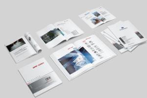 La impresión de libro en blanco y negro libro encuadernado