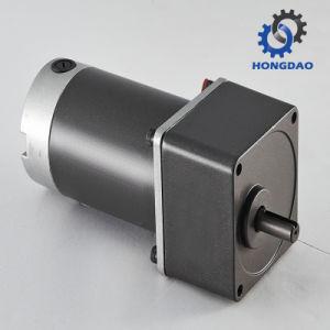 12V 24V 220V DC Motor Eléctrico con 90W-150W -E