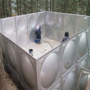 Прямоугольный бак для хранения воды из нержавеющей стали / резервуар для воды / контейнер для воды