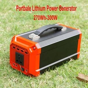 Piscina em casa portátil pequeno gerador com carga de energia solar