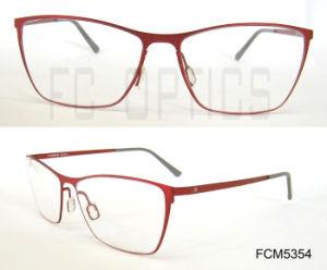 Het nieuwe Optische Frame van het Metaal van het Geheugen voor Dame en Mensen
