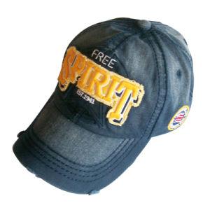 O pai de cor sólida Hat com logotipo de Nice Gj1735g