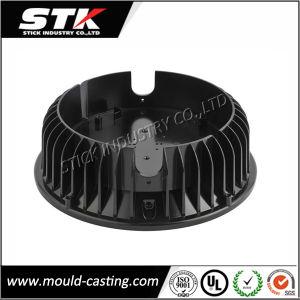 Acessórios de iluminação da tampa da lâmpada por fundição de moldes de Alumínio