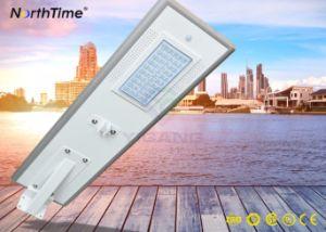 30W de alto brillo todo-en-uno el ahorro de energía LED lámpara solar de la calle