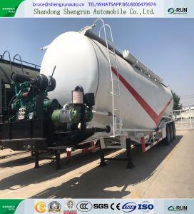 Autocisterna materiale del cemento del camion del trasporto della polvere di prezzi di fabbrica con il compressore d'aria