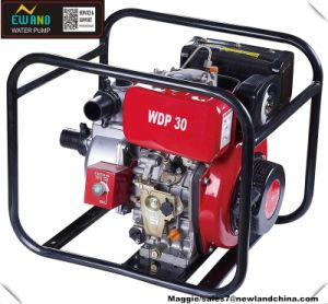 80mm/3pulgadas de alta presión de agua Bomba con motor diesel (DP30).