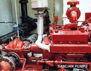 La lucha contra incendios bomba de agua centrífuga (CPS)