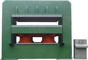 Tipo di blocco per grafici di C macchina di gomma della pressa di calore per i prodotti di gomma