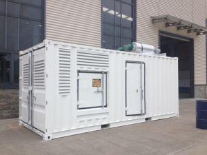 insiemi di generazione diesel di 552kw/690kVA Doosan con il baldacchino insonorizzato