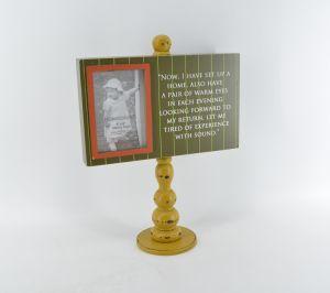 Los pedestales de nuevo diseño de marco de fotos de madera para el hogar Deco