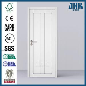 L'ouest de l'apprêt blanc de l'intérieur de style Shaker porte (JHK-SK02-1)