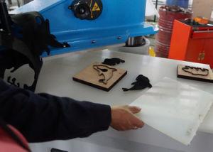 Equipamento para engraxar os Palmilha/Porta-luvas/Wallet/Hat/ saco de tecido/máquina de corte de flores artificiais