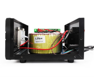 Fase única Graphic Display LED SVR-2000va tipo Relé do estabilizador de tensão