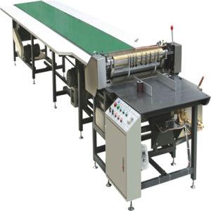 Alimentação manual de papel e máquina de colagem para cobrir a colagem de papel