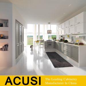 Gabinetes de cozinha de aglomerado de melamina/laca de MDF de armários de cozinha (SCA2-W229)