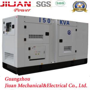 Usine de Guangzhou 150kVA Groupe électrogène Diesel silencieux insonorisées générateur électrique de puissance