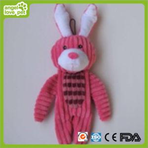 Giocattolo molle di Plush&Stuffed del coniglio del cane, giocattolo dell'animale domestico