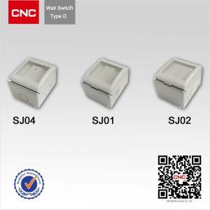 La Sudafrica IP65 esterno impermeabilizza lo zoccolo e l'interruttore di parete