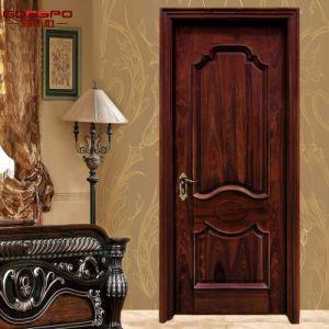 Puerta interior de madera de caoba del nuevo dise o con la - Lo ultimo en puertas de interior ...