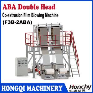 Cabeça gêmea ABA três camadas da máquina de sopro da película