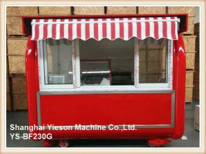 Ys-Bf230g karrt heißer Verkaufs-Straßen-Verkauf mobile Nahrungsmittelkarren für Verkauf