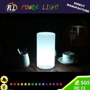 El día de Pascua Navidad cilindro Mini Mesa de luz LED