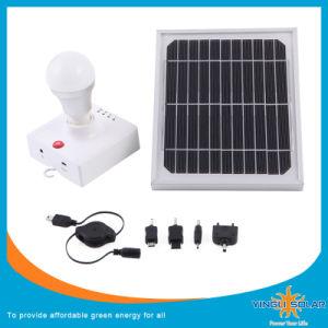 Linterna LED Solar con mando a distancia