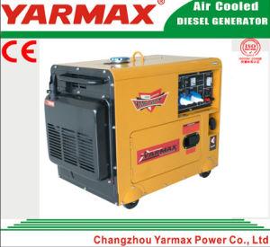 тип охлаженный воздух передвижного тепловозного генератора 4kVA Ym7000t Ym186 молчком