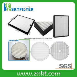 Material de fibra de vidro do filtro HEPA H13