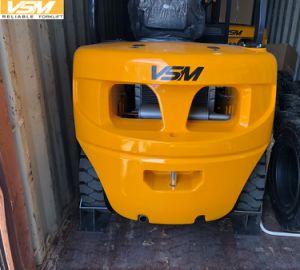 Vsm 3tonne chariot élévateur à fourche 4,5 m de hauteur de levage du chariot élévateur diesel 3000kgs, Cpcd30, 3T, 3000kg élévateurs diesel Chariot élévateur à fourche avec Isuzu, avec moteur de déplacement latéral