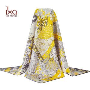 2019 Fashion 100% Саржа шелк атласный шарфом Турции Пользовательский экран Печать чистой