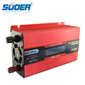 Suoer 1500W 12V 220V de la Energía Solar Inverter (SDB-D1500A)