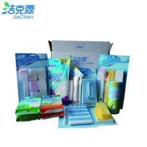 Pakket van de Doos van de Gift van de Producten van het Merk van Jieclean plaatst het Schoonmakende Schoonmakende Borstel