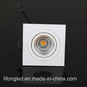 2017 Nuevos Productos Aluminum COB Square LED Downlight LED