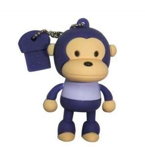 Прелестная Monkey флэш-накопитель USB 2.0 Индивидуальные 3D-USB Memory Stick™