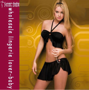 Clubwear sexy nero (L3106)