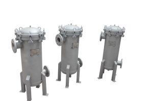 5 Microns longueur simple et double sac en acier inoxydable de filtres