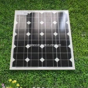 モノラル結晶のケイ素の太陽電池パネル(GCC-60W)
