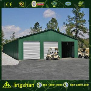 Гараж стальной структуры Lingshan полуфабрикат--Ssg205