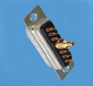 Typ Verbinder des Fabrik-kundenspezifischer Lötmittel-11W1 der Energien-D-SUB