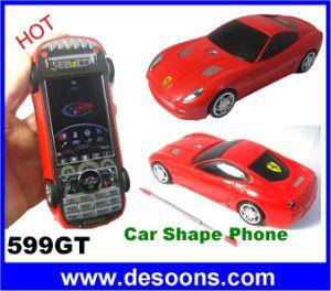 599GT Celular Carro Shape cartões SIM Dupla