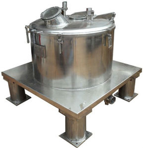 Pd800 Machine van de Centrifuge van de Separator van de Filter van de Zak de Opheffende