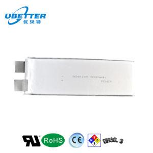 Recargable de 3,7V 5000mAh Li-ion del polímero Batería para el Producto Digital