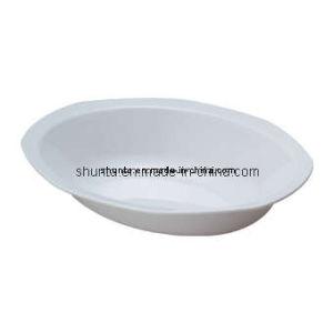 100 % de la mélamine vaisselle -plaque profonde (WT825)