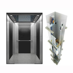 8인 630kg 스테인리스 스틸 미러 유출 주택 파노라믹 빌라 조수석 엘리베이터
