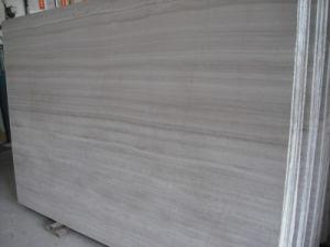 En marbre poli adouci/gris/blanc/Athen/bleu/Gingko dalle de marbre en bois Bois/tuiles/laminés