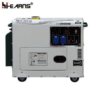 Luftgekühltes Dieselgenerator-Set-einphasiges (DG3500SE+ATS)