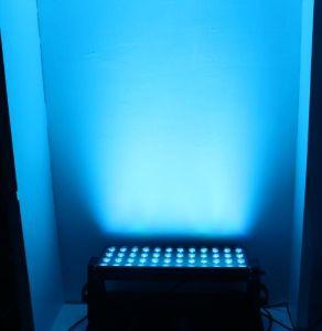 2018 LEDの洗濯機ライト/防水LEDの壁の洗濯機ライトを変更する高い発電屋外60X3w RGBのカラー