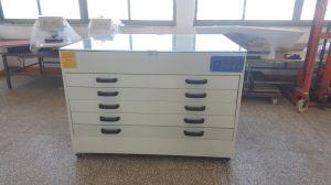 Marco de la pantalla de seda de armario de secado horno secador Vertical / Horizontal