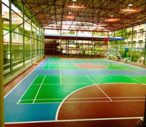 China PVC PVC Suelos deportivos profesionales